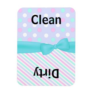 Pretty Colorful Dishwasher Magnet