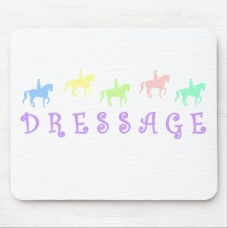 Pretty Colorful Dressage Mouse Pad
