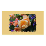 Pretty Colorful Flowers Double-Sided Standard Business Cards (Pack Of 100)