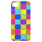 Pretty Colorful Mosaic Tile Pattern Gifts for Her iPhone 5 Cases