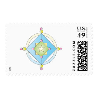 Pretty Compass Rose Stamps
