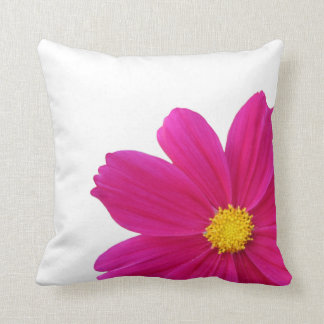 pretty cosmos flower pillow
