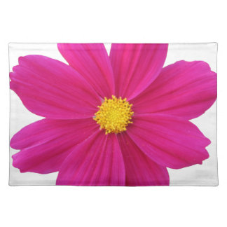 pretty cosmos flower place mats