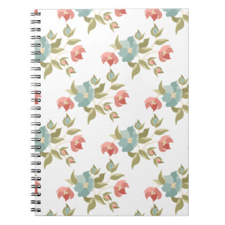 Pretty Cottage Floral Notebook