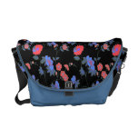 Pretty Country Flowers Courier Bags