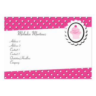 Pretty Cupcake Business Card Templates