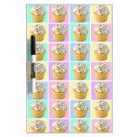 Pretty Cupcake Dry-Erase Boards