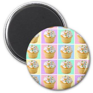 Pretty Cupcake Magnet