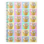 Pretty Cupcake Notebook