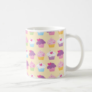 Pretty Cupcake Pattern Coffee Mug