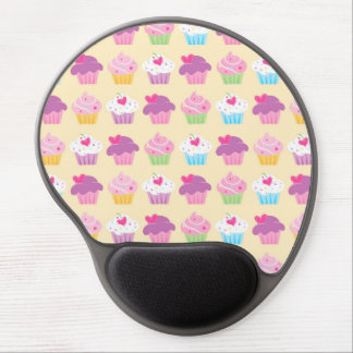 Pretty Cupcake Pattern Gel Mouse Pad