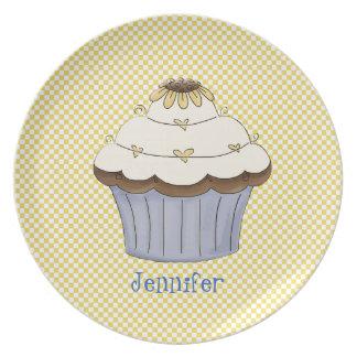 Pretty Cupcake Plate