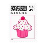 Pretty Cupcake Postage Stamp