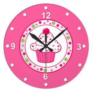 Pretty Cupcake Wall Clock