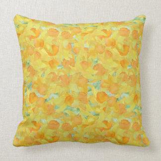 Pretty Cushion or Pillow, Golden Yellow Daffodils