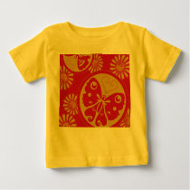 Pretty cute Butterfly pattern Baby T-Shirt