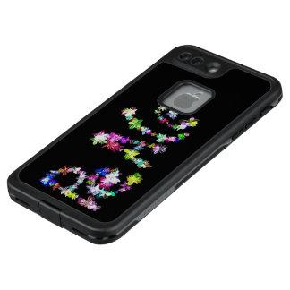 Pretty Cute Peace Floral Colorful Design LifeProof FRĒ iPhone 7 Plus Case
