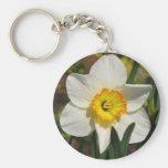 Pretty Daffodil Key Chains