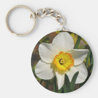 Pretty Daffodil Key Chains