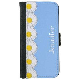 Pretty Daisies iPhone Wallet