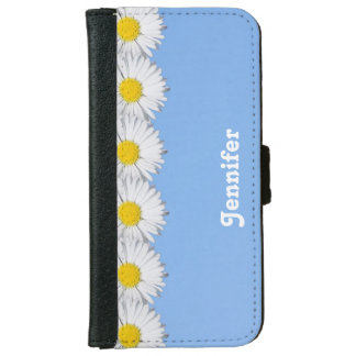 Pretty Daisies iPhone Wallet iPhone 6 Wallet Case