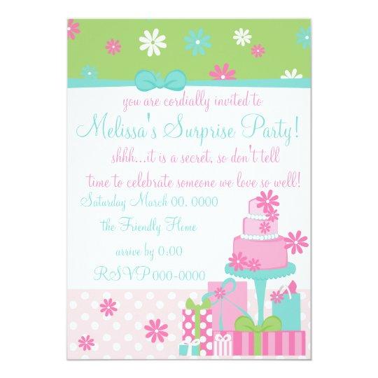Pretty Daisy Cake Card