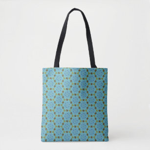 Pretty Daisy Chain Tote Bag