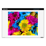 Pretty Daisy Flowers Colorful Petals Gifts Laptop Skins
