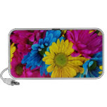 Pretty Daisy Flowers Colorful Petals Gifts Mp3 Speakers