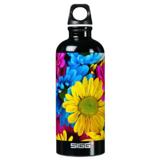 Pretty Daisy Flowers Colorful Petals SIGG Traveler 0.6L Water Bottle