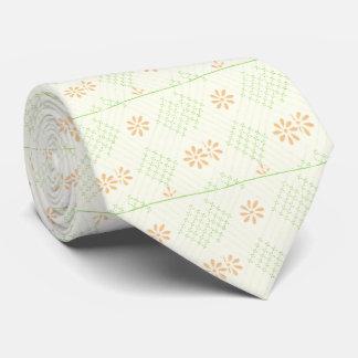 Pretty Daisy Flowers Neck Tie