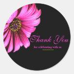 Pretty Daisy Wedding Favor Label Stickers