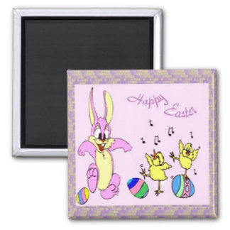 Pretty Dancers Easter Magnet