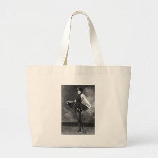 Pretty Dancing Girl 1910s Tote Bag