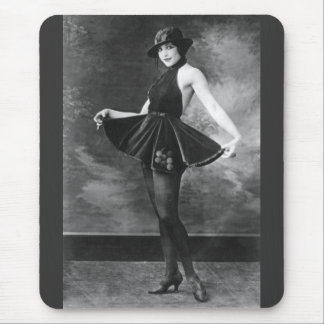 Pretty Dancing Girl 1910s Mouse Pad