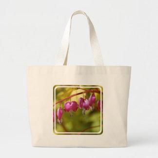 Pretty Dangling Bleeding Heart Flowers Bags