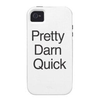 Pretty Darn Quick.ai iPhone 4 Cases