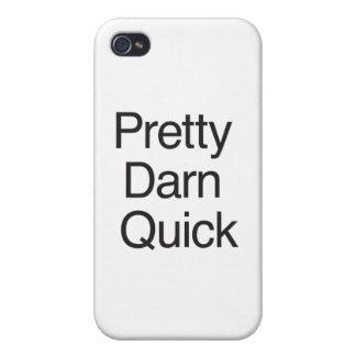 Pretty Darn Quick.ai iPhone 4 Cover