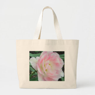 Pretty Delicate Feminine Flower White Pink Gifts Bag