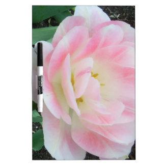 Pretty Delicate Feminine Flower White Pink Gifts Dry Erase White Board