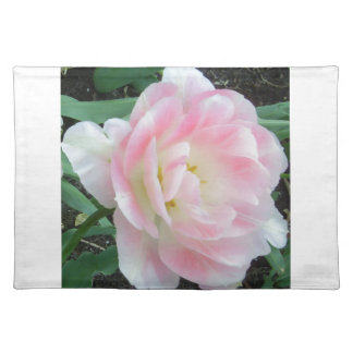 Pretty Delicate Feminine Flower White Pink Gifts Place Mat