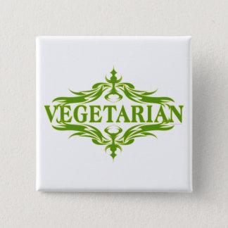 Pretty Design for Vegetarian Button