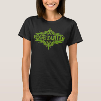 Pretty Design for Vegetarian T-Shirt