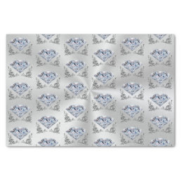 Pretty Diamond Tissue Paper