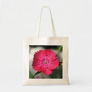 Pretty Dianthus Budget Tote Bag
