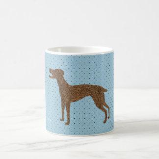 Pretty dog design classic white coffee mug