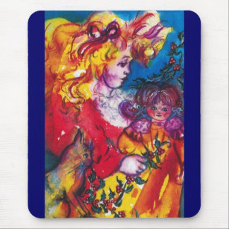 PRETTY DOLL MOUSE PAD