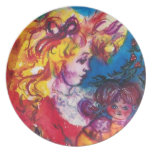 PRETTY DOLL PARTY PLATE