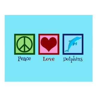 Pretty Dolphin Postcard
