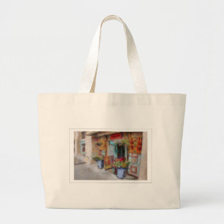 Pretty doorway in New Mexico Large Tote Bag